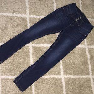 Girls stretch skinny jeans size 16